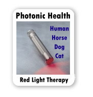Photonic Health for Humans, Horses, Dogs and Cats